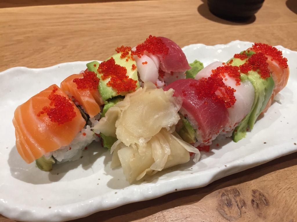 Rainbow Roll Sushi Atelier