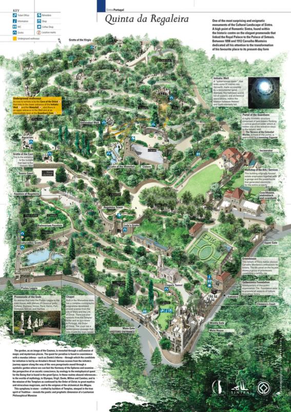 レガイラ宮殿の地図