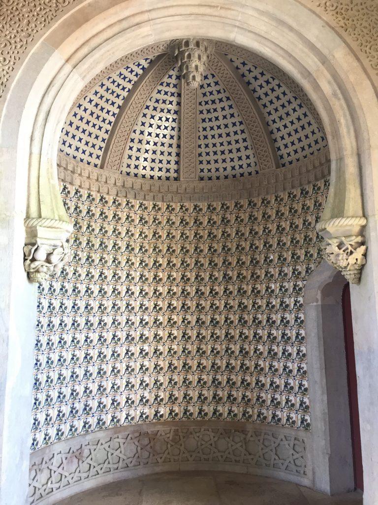 ペナ宮殿入口