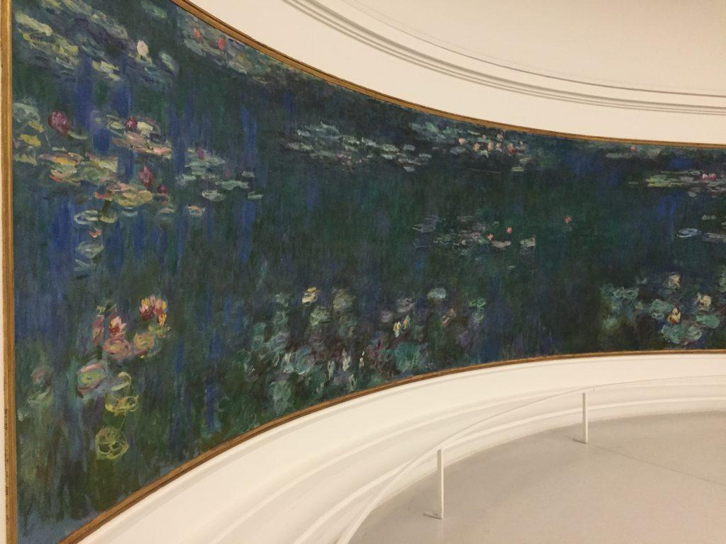 オランジュリー美術館 モネの睡蓮