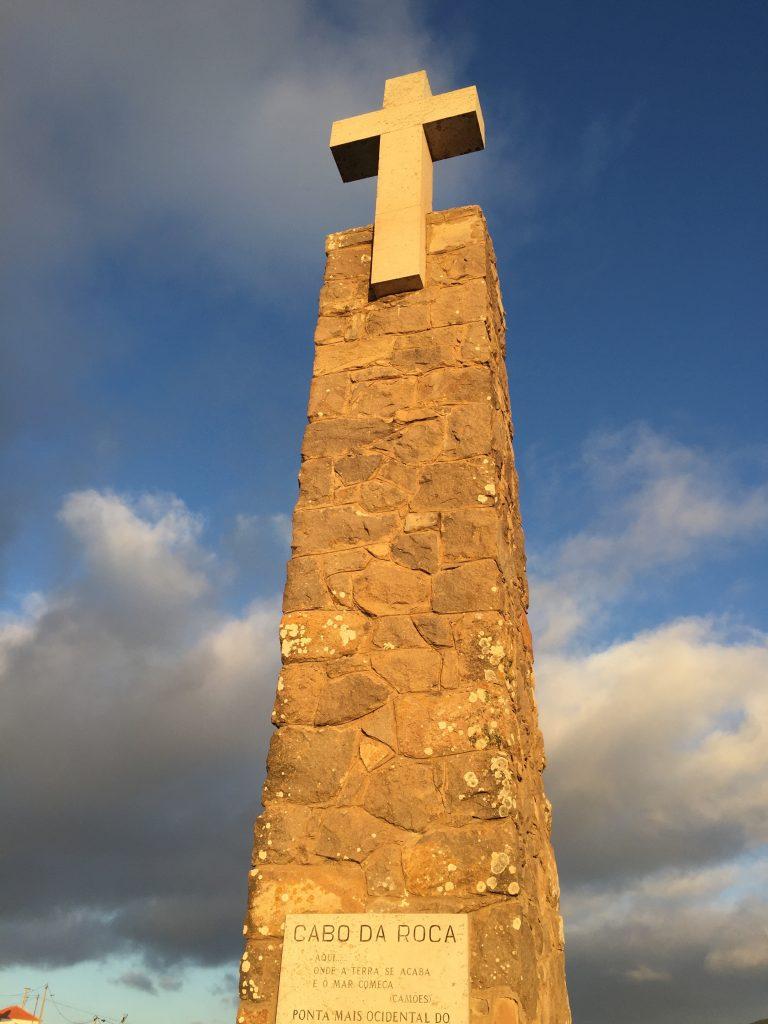 ロカ岬の石碑