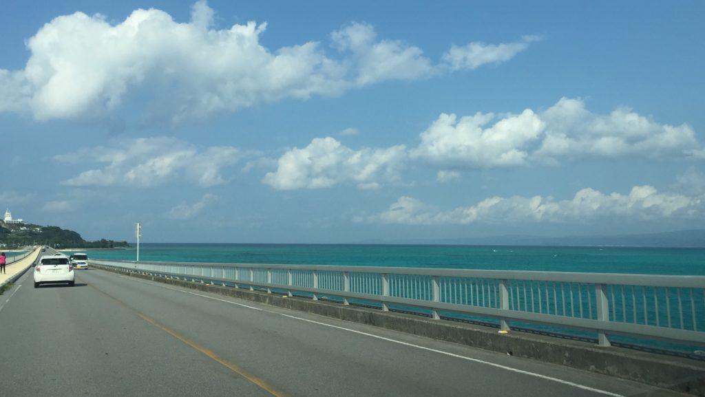 古宇利島への橋
