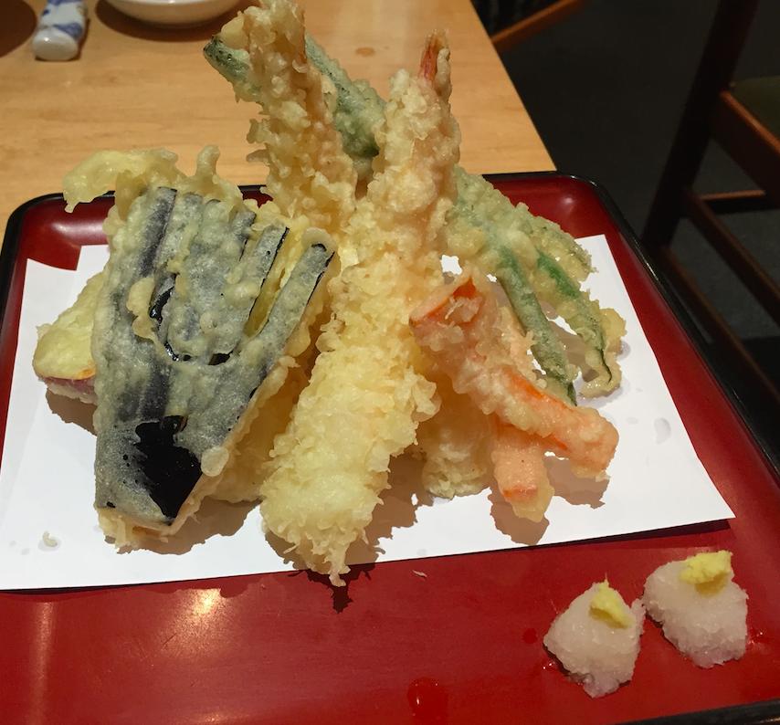 天ぷら盛り合わせ Sakana-Tei
