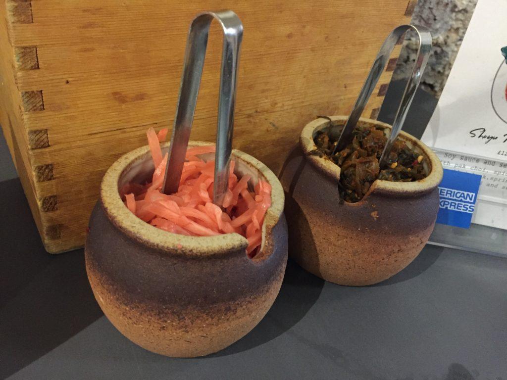 紅生姜と高菜 Kanada-Ya