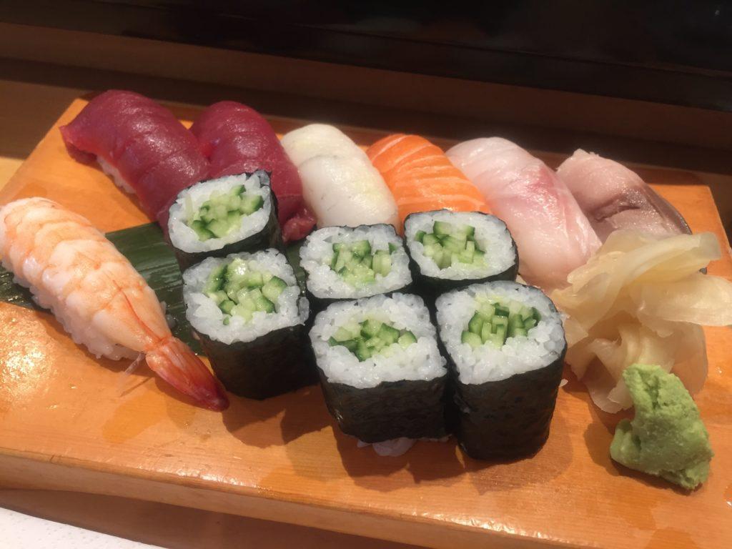 寿司ランチ並 Sakana-Tei