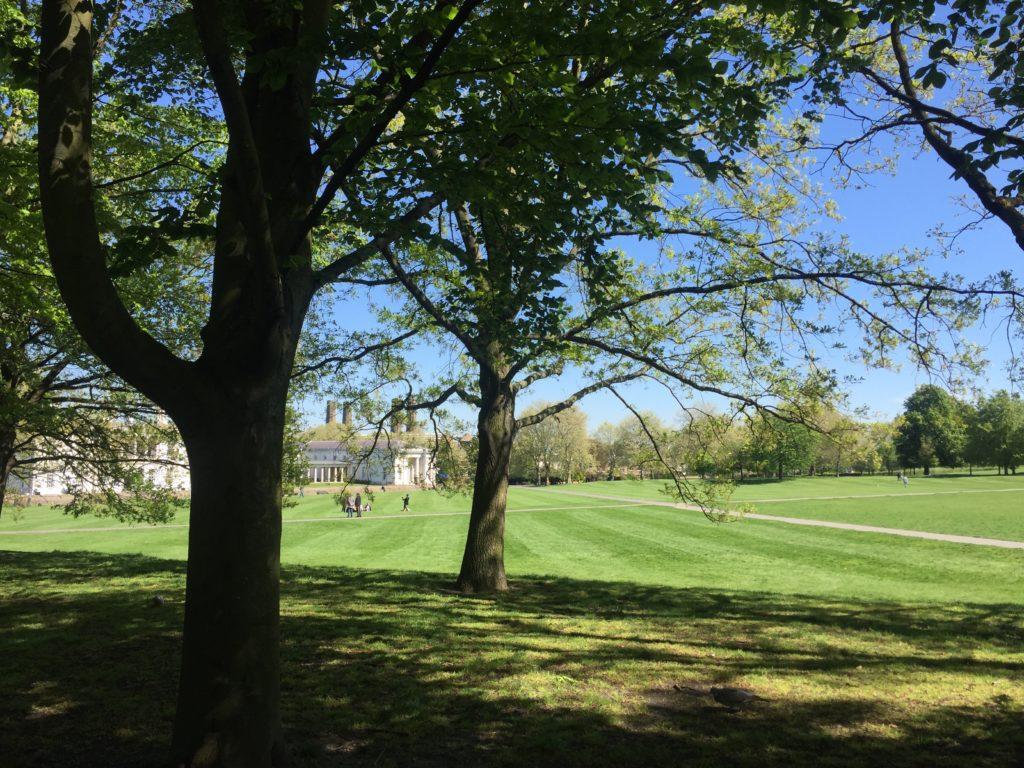 グリニッジの公園