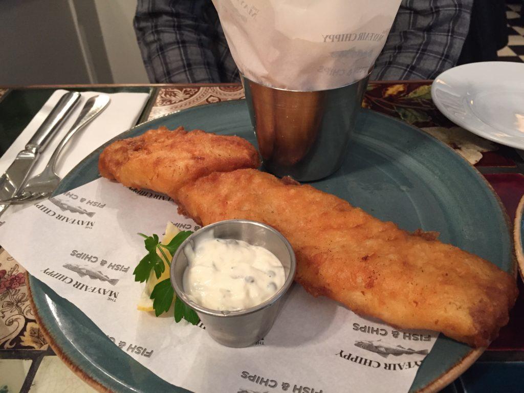 PlaiceのFish & Chips Mayfair Chippy