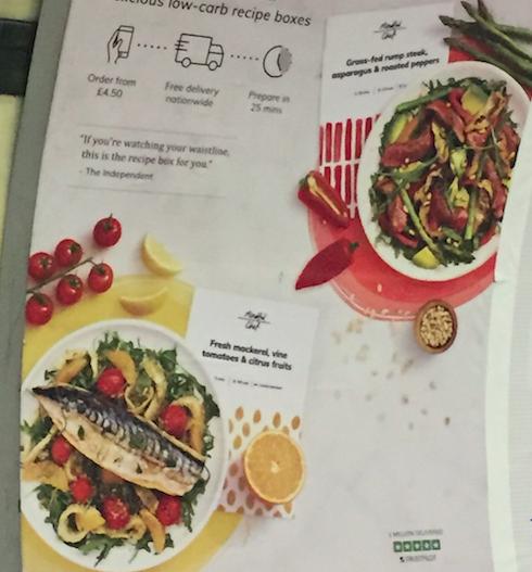 駅の飲食ポスター
