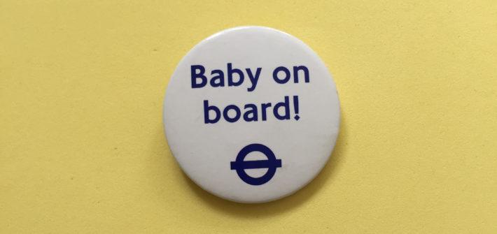 Baby on Board Badge