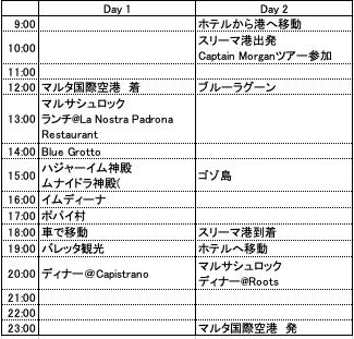 malta schedule2