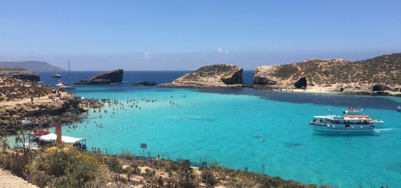 マルタ コミノ島 ブルーラグーン